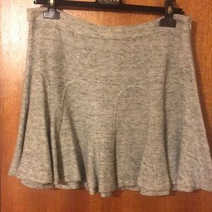 10 Crosby by Derek Lam grey skirt